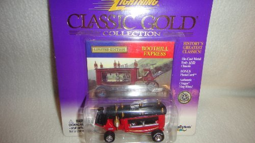 JOHNNY LIGHTNING CLASSIC GOLD COLLECTION LIMITED EDITION BOOTHILL EXPRESS DIE-CAST