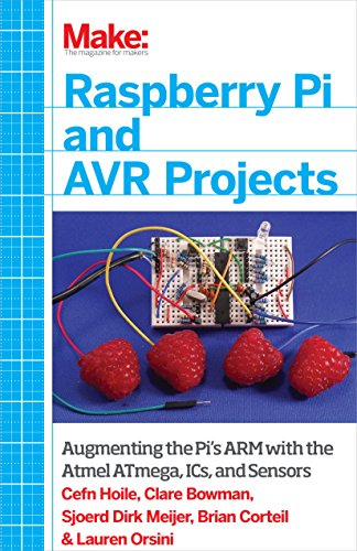 Make: Raspberry Pi And Avr Projects: Augmenting The Pi'S Arm With The Atmel Atmega, Ics, And Sensors