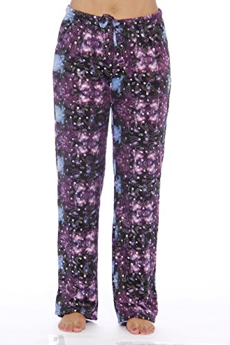 Just Love Women's Plush Pajama Pants – Petite to Plus Size Pajamas