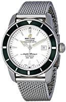 Breitling Men's A1732136/G717SS Silver Dial Aeromarine Superocean Heritage Watch from BRIT ARCH OF COUNTRY