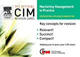 img - for CIM Revision Cards:Marketing Management in Practice 05/06 book / textbook / text book