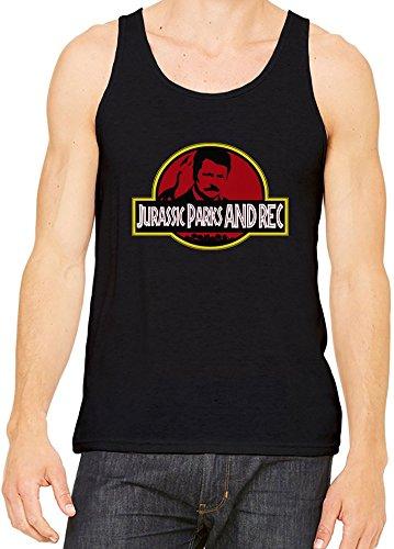 Jurassic Parks & Rec Unisex Tank Top Small