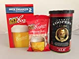 Coopers Sparkling Ale Refill Home Brew Beer Kit (Concentrate + Enhancer + Drops)