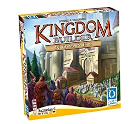Kingdom Builder Nomads Expansion 1 Board Game