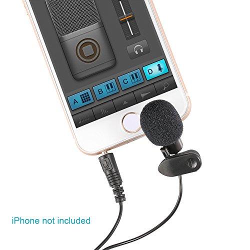 Mini Micrófono Neewer de solapa, conexión 3.5mm