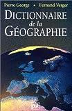 echange, troc Pierre George, F. Verger - Dictionnaire de la géographie