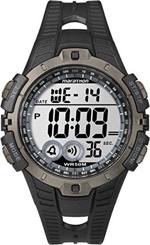 Timex 241501 Orologio da Polso, Unisex, Resina, Nero