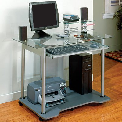 Buy Low Price Comfortable Jupiter Computer Cart (B0008GMWV6)