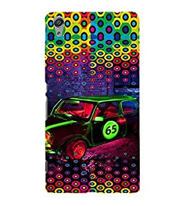 PRINTVISA Abstract Car Case Cover for SONY XPERIA C6