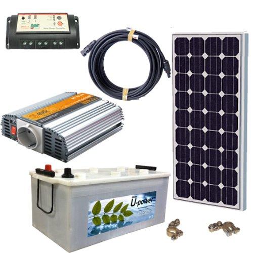 Kit solar fotovoltaico para cargar baterias de 250ah