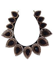 Amaira Jewels Gold Plated Strand Necklace For Women - B0133GAVLA