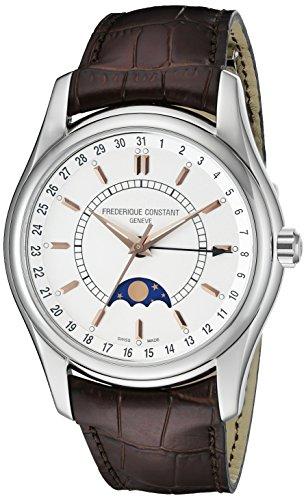 Frederique Constant FC330V6B6 - Reloj de pulsera hombre, piel, color marrón