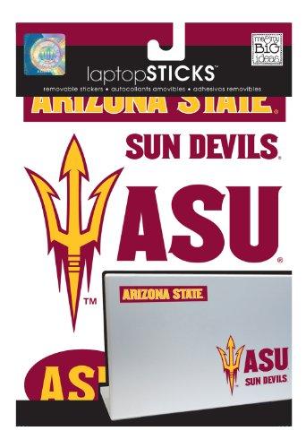 Me & My Big Ideas Laptopsticks Removable Laptop Stickers, Arizona State Sun Devils front-980047