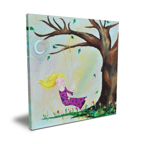 "Cici Art Factory 16"" x 16"" Swing, Canvas - 1"