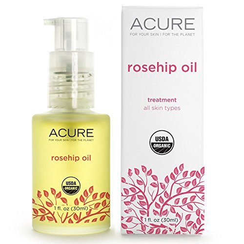 Acure Organics Certified Organic Cold Pressed Rosehip Oil