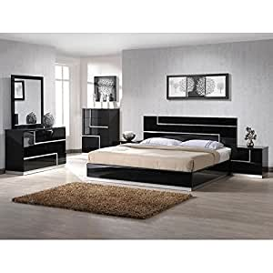 lucca platform bedroom set full bedroom furniture sets