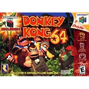 Amazon.com: Donkey Kong 64: Video Games