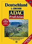 ADAC Profi Atlas Deutschland: 1:100000