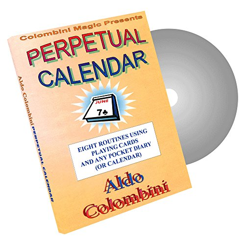 MMS Perpetual Calendar by Wild-Colombini Magic - DVD