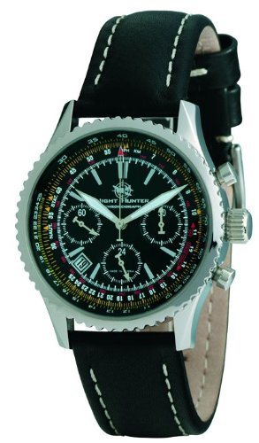 Moscow Classic Night Hunter 31681/00811028 Mechanical Chronograph for Him Made in Russia