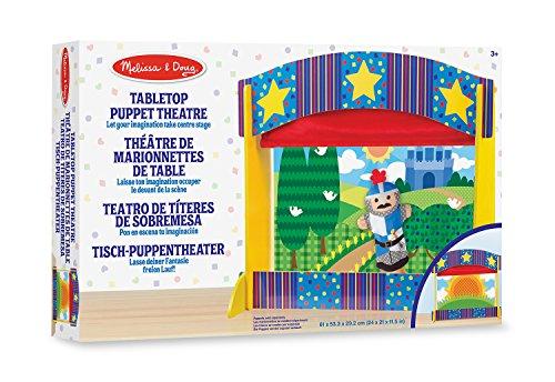 Melissa & Doug - Teatro de títeres de sobremesa (12536)