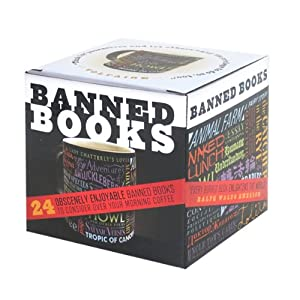 Banned Book Mug by The Unemployed Philosophers Guild