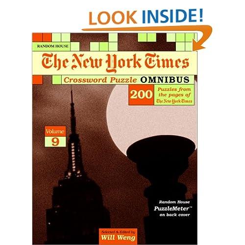 New York Times Crossword Puzzle Omnibus, Volume 10 (NY Times) Eugene Maleska