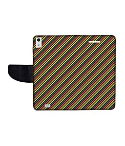 KolorEdge Printed Flip Cover For Gionee Elife S5.5 Multicolor -(50KeMLogo12262GioneeS5.5)