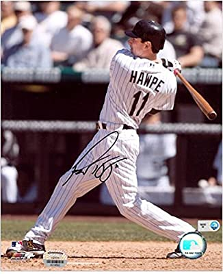 "Brad Hawpe Colorado Rockies Autographed 8"" x 10"" Swinging Photograph - Fanatics Authentic Certified - Autographed MLB Photos"