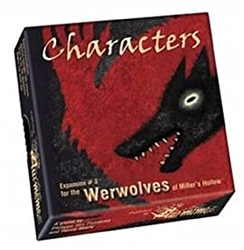 Werewolves of Millers Hollow Characters Expansion