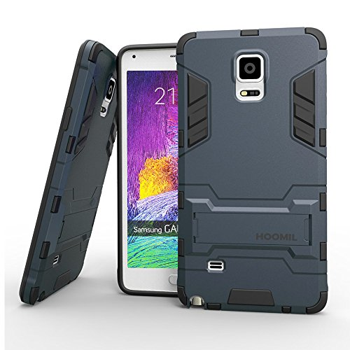 hoomil-custodia-galaxy-note-4-armor-serie-silicone-built-in-stand-case-per-samsung-galaxy-note-4-blu