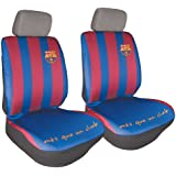 Sumex FCB7102 Sitzbezüge mit FC-Barcelona-Design, 2 Stück