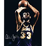 KAREEM ABDUL-JABBAR - Los Angeles Lakers AUTOGRAPH - Signed 8x10 Photo