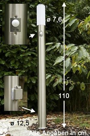 Partager facebook twitter pinterest eur 59 99 livraison for Lampe exterieur sur pied avec detecteur