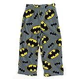 Batman Boys Grey Fleece Pajama Pants
