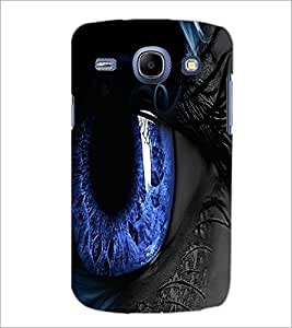 PrintDhaba Blue Eyes D-3332 Back Case Cover for SAMSUNG GALAXY MEGA 5.8 (Multi-Coloured)