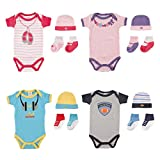 Luvable Friends 4 Piece Rebel Baby Gift Set