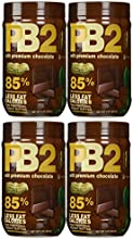 Bell Plantation PB2 Chocolate Peanut Butter 1 lb Jar 4-pack