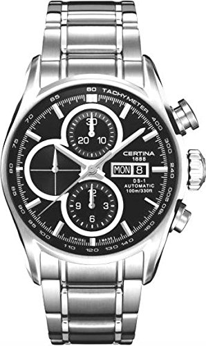 Certina DS-1 Chrono C006.414.11.051.00 Automatic Mens Chronograph Classic & Simple