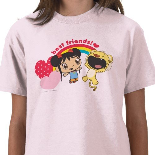 Ni Hao, Kai-Lan: Best Friends Tee - Girls