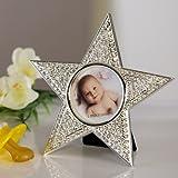 Fotorahmen Star Stern Bild Geburt Taufe Baby Geldgeschenk
