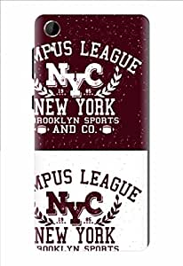 Noise Nyc League Printed Cover for HTC Desire 728G Dual Sim