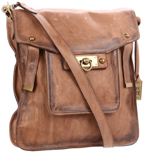FRYE Cameron Magazine Cross Body,Tan,One Size