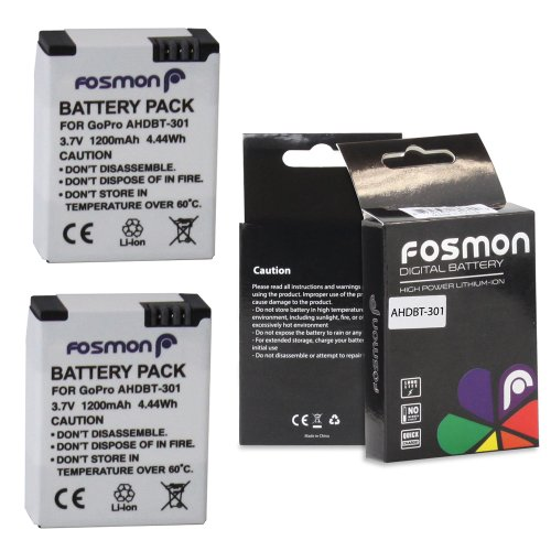 fosmon-2-packs-1200-mah-37v-high-capacity-ahdbt-301-replacement-lithium-li-ion-battery-pack-for-gopr