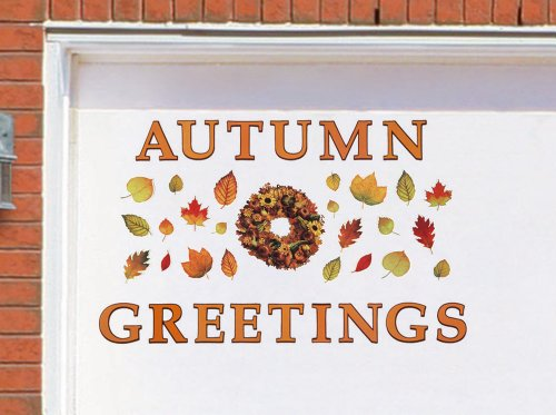 Images for Autumn Greetings Harvest Garage Door Magnet Set By Collections Etc