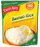 Tasty Bite Basmati Rice, Fully Cooked Aromatic Rice from India, 8.8-Ounce Packages (Pack of 12)