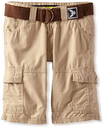 Company 81 Big Boys' Fine Line Twill Short, Khaki, 20