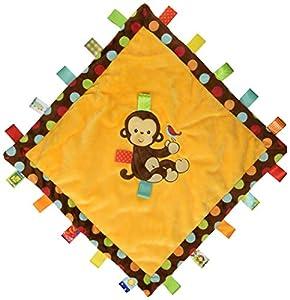 Taggies Dazzle Dots Cozy Blanket, Monkey