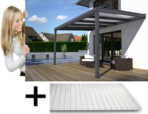 terrassen berdachung alu bausatz g nstig inkl lieferung. Black Bedroom Furniture Sets. Home Design Ideas