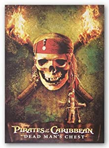 "Pirates of the Caribbean - Dead Man's Chest: Skull by Walt Disney 20""x28"" Art Print Poster Disney"